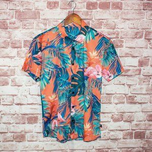 TIMOTEO Men's Short Sleeve Riviera Mesh Shirt